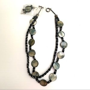 Jewelry - Fashion Earrings and Necklace Set